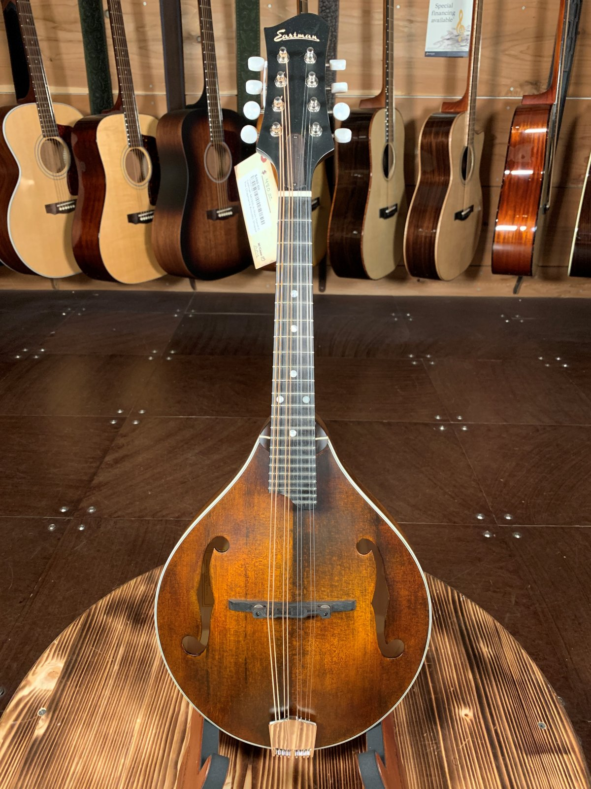Eastman MD305 A-Style Hand-Carved Mandolin #2148