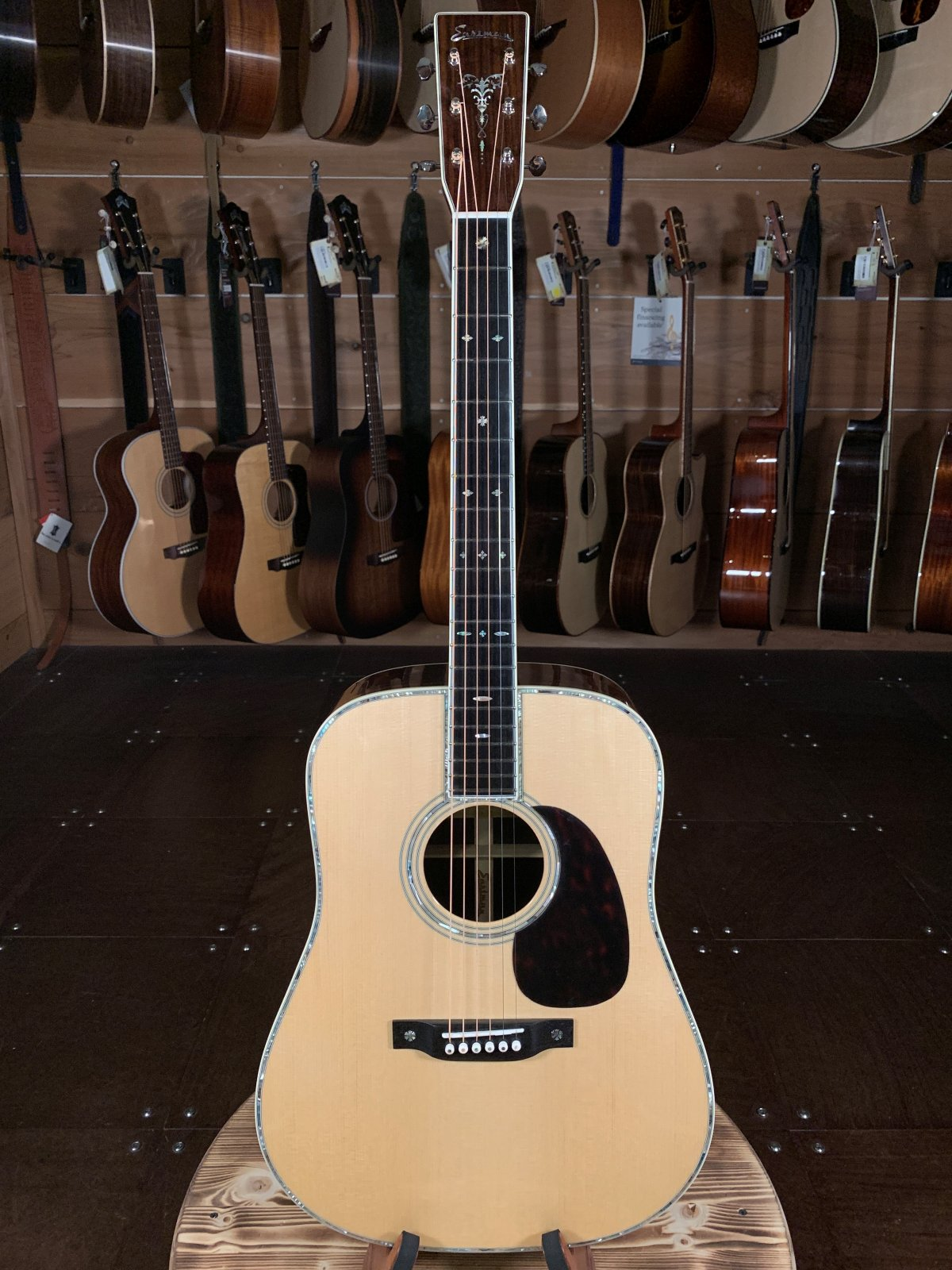 Eastman E40D Traditional Rosewood Dreadnought #0409