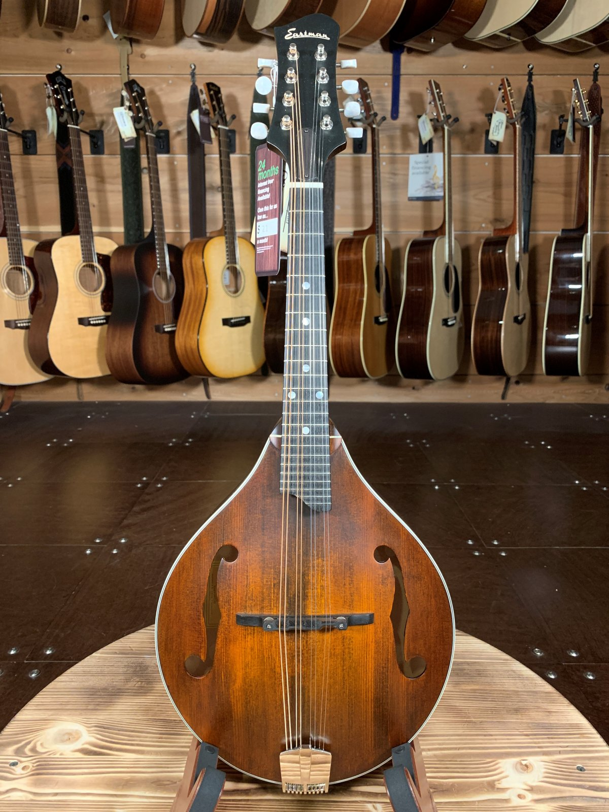 Eastman MD305 A-Style Hand-Carved Mandolin #2149