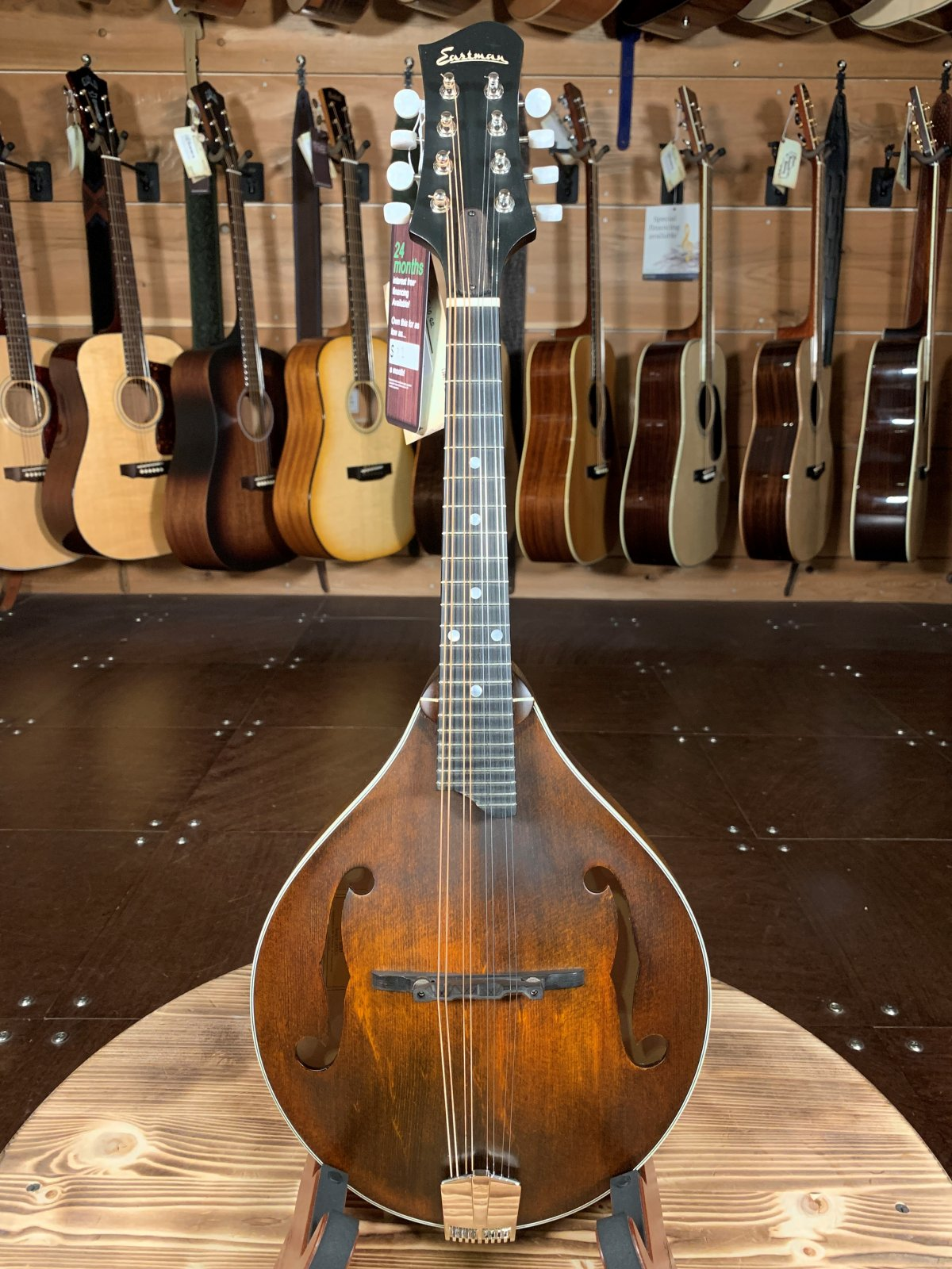 Eastman MD305 A-Style Hand-Carved Mandolin #2920