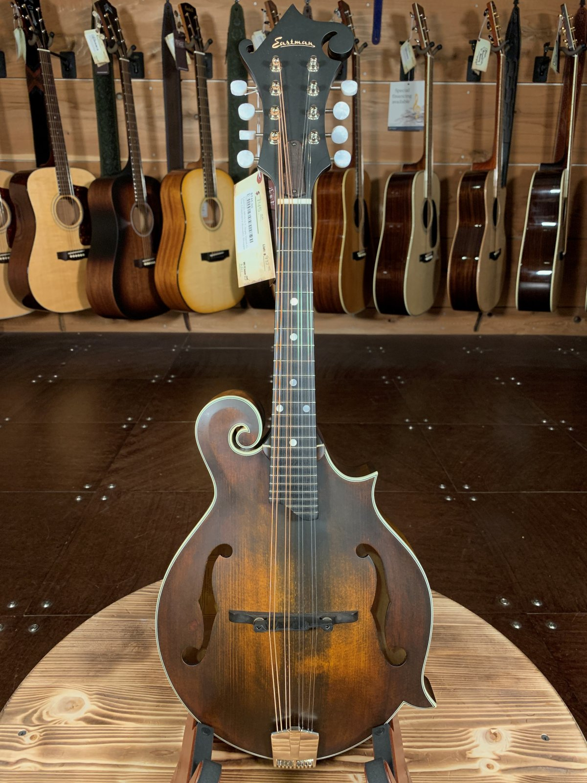 Eastman MD315 F-Style Hand-Carved Mandolin #2012
