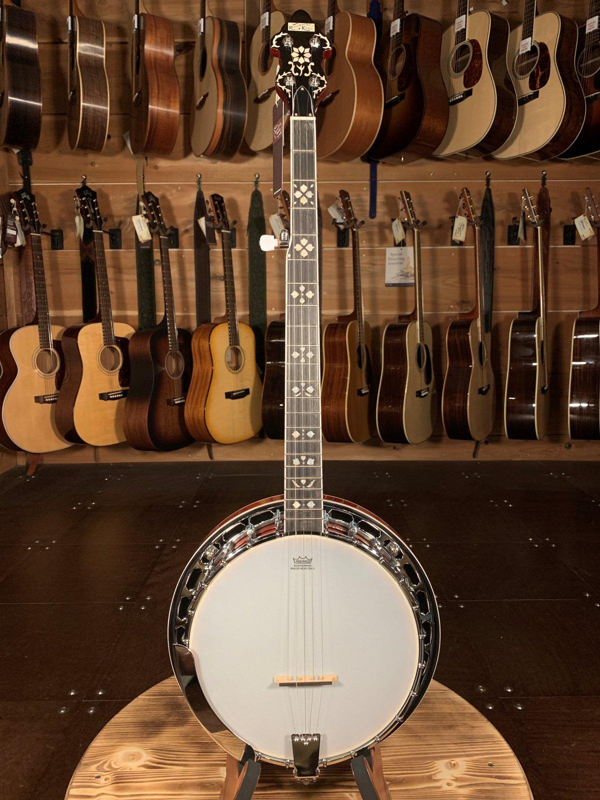 Recording King RK-R20 Songster Resonator Banjo #0069