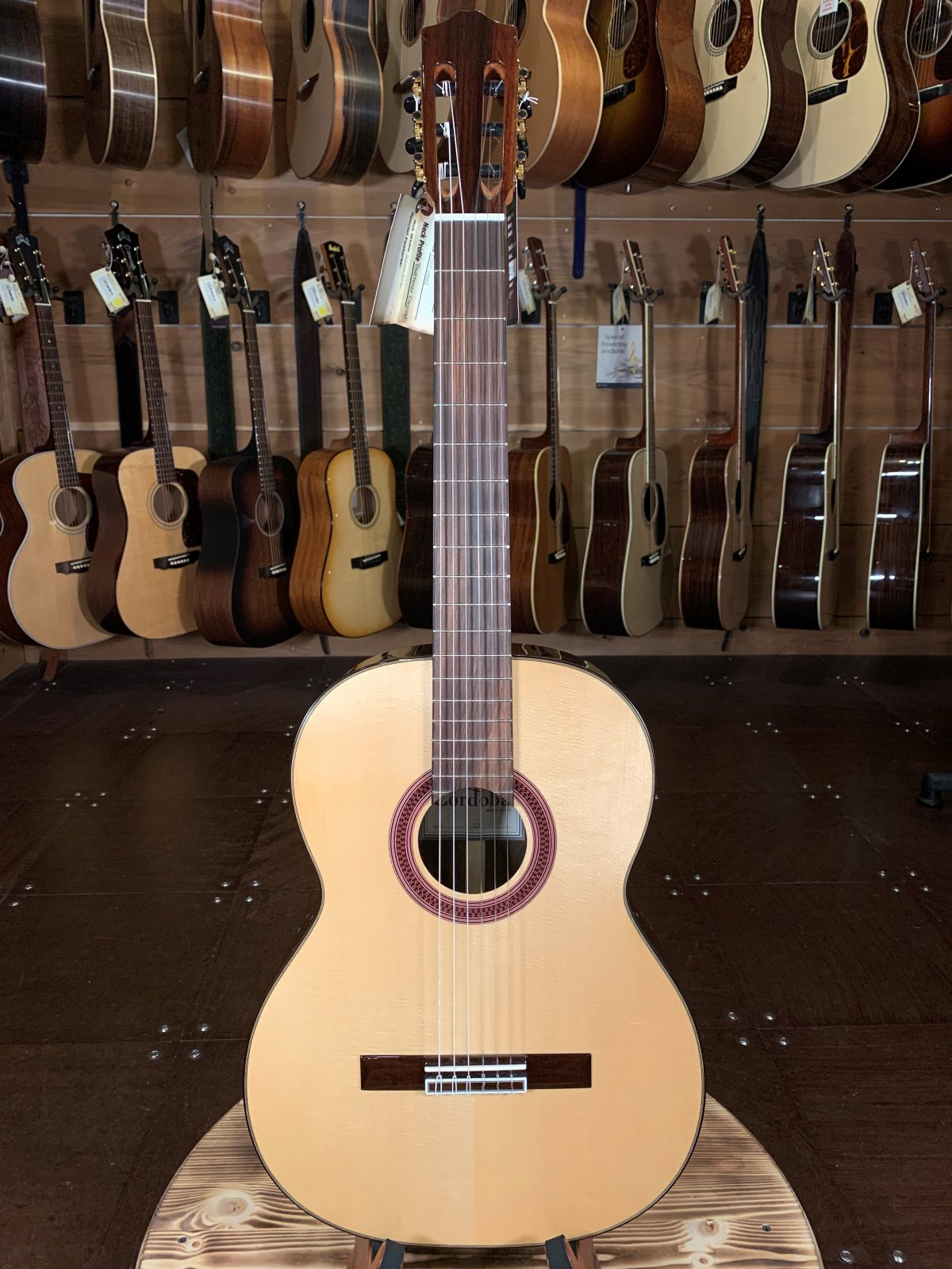 (Floor Model) Cordoba C7 SP Spruce/Rosewood Classical Guitar #0235