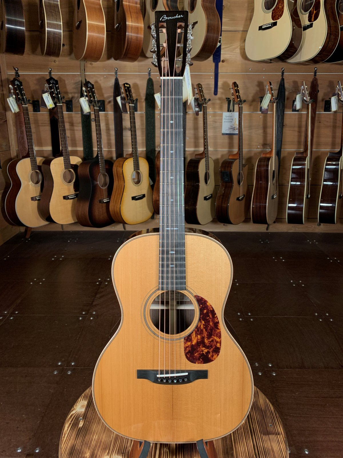 Boucher HG-56 AAAA Torrefied Adirondack/Indian Rosewood 12 Fret OOO Acoustic #IN-1127-12FTB