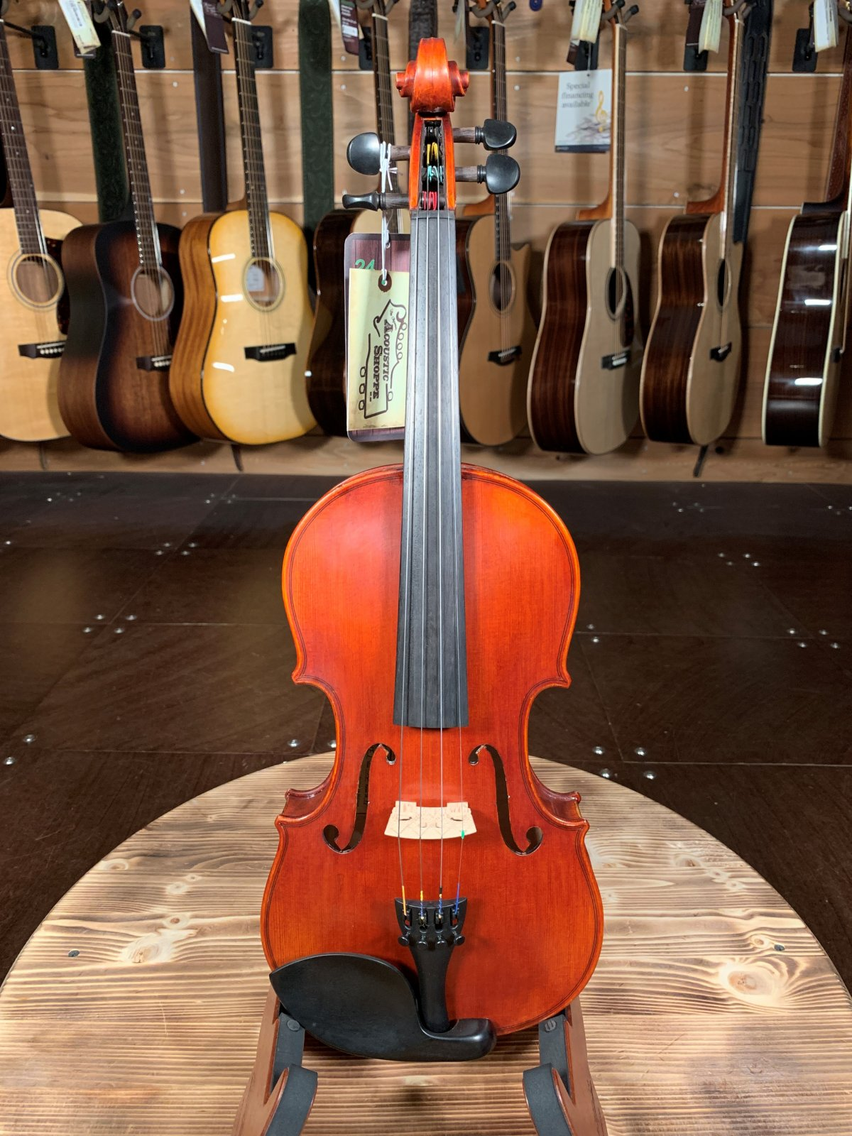 Eastman VLF1 Hand-Carved Fiddle Outfit #8803