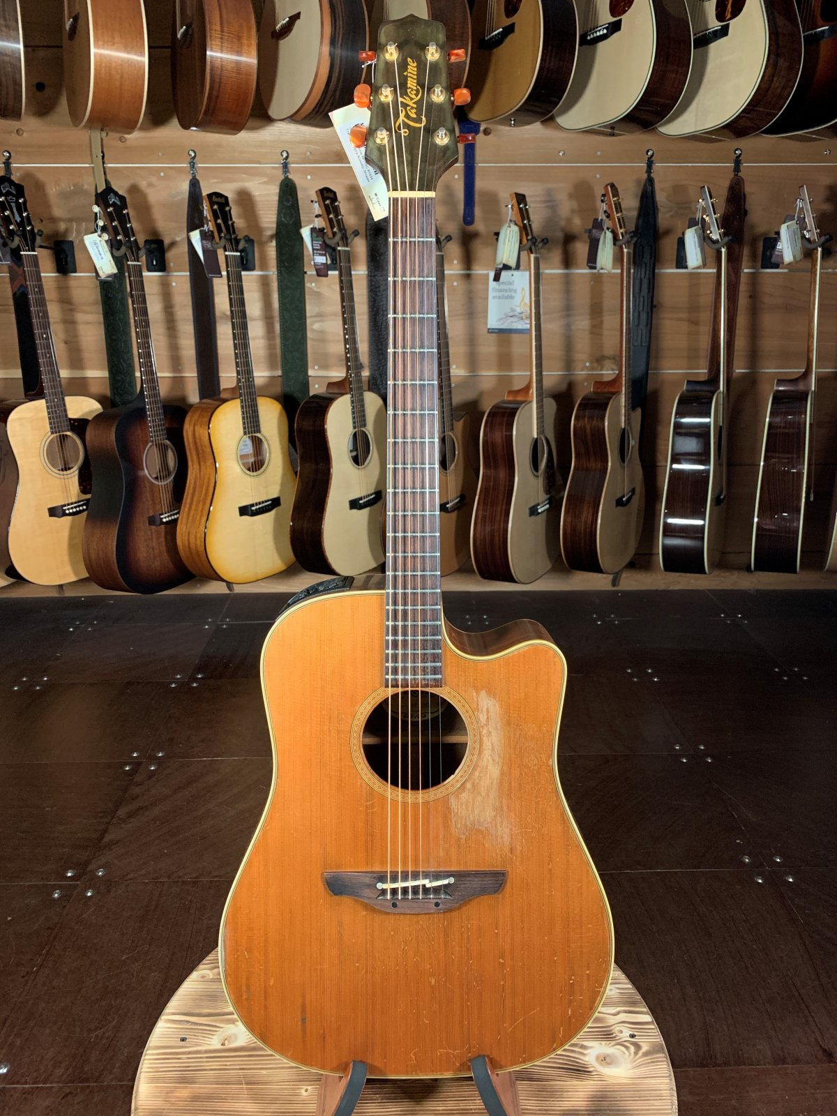 (Used) Takamine NP-15C #1634 Acoustic Guitar