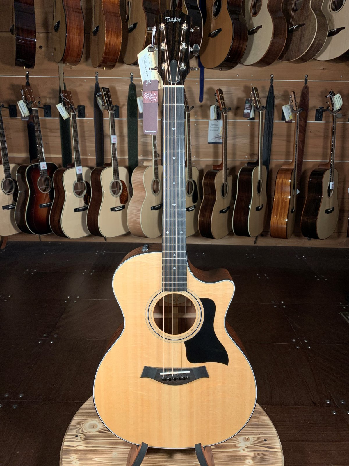 (Used) 2017 Taylor 314CE Acoustic Guitar #7075