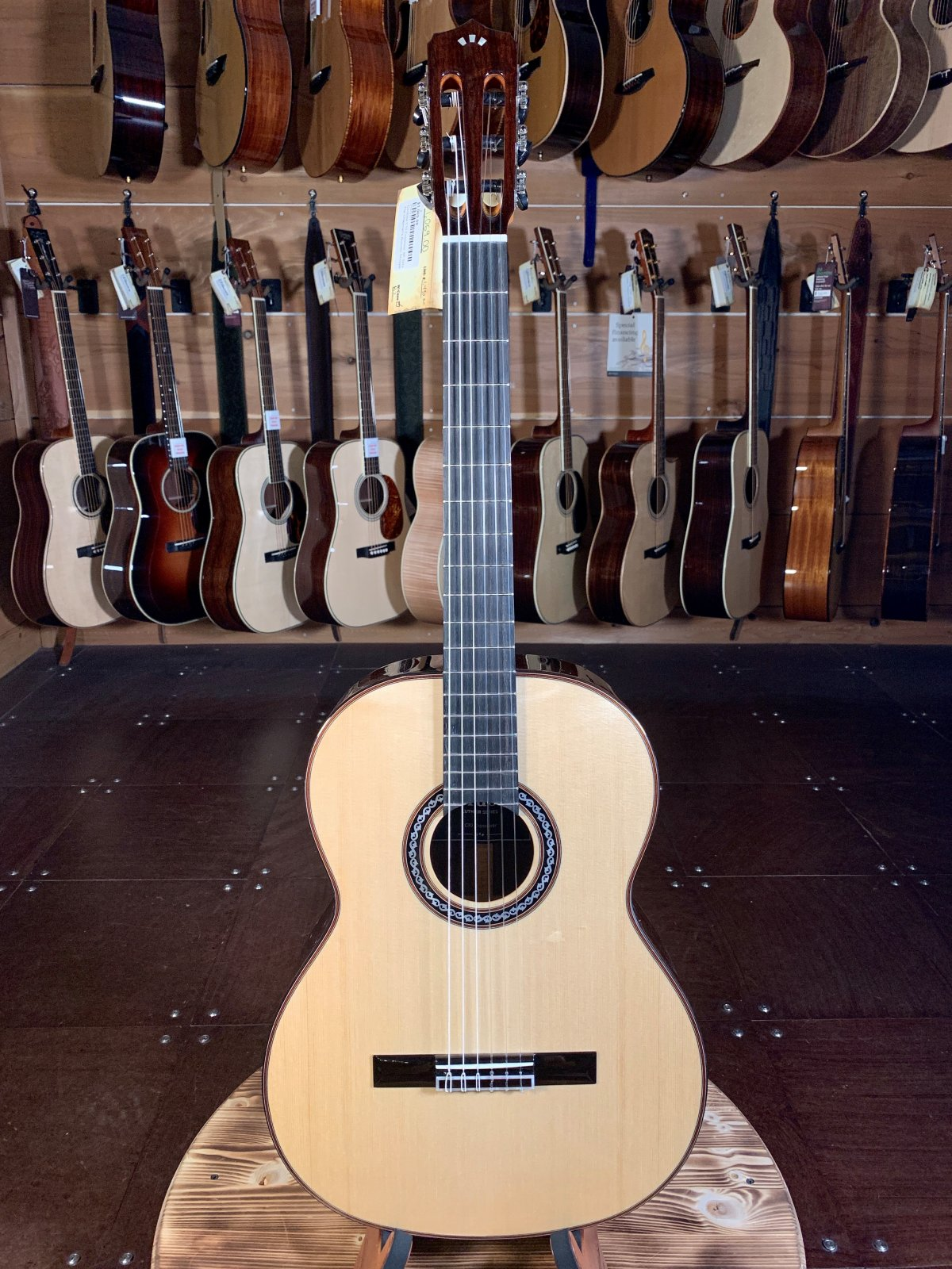 Cordoba C10 Crossover SP Spruce/Rosewood w/ Case #3163