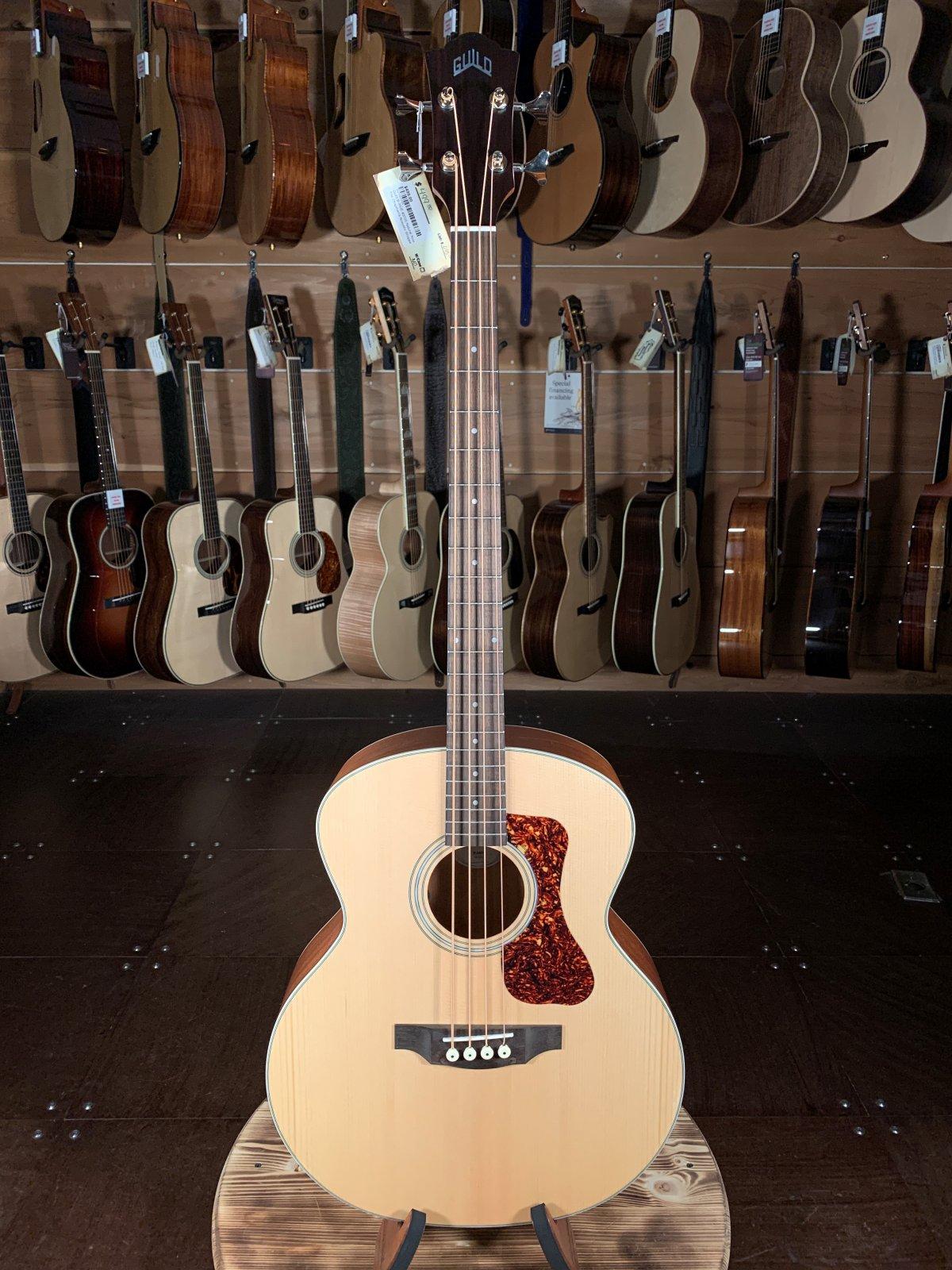 Guild B-240E #3705 Natural Acoustic Bass