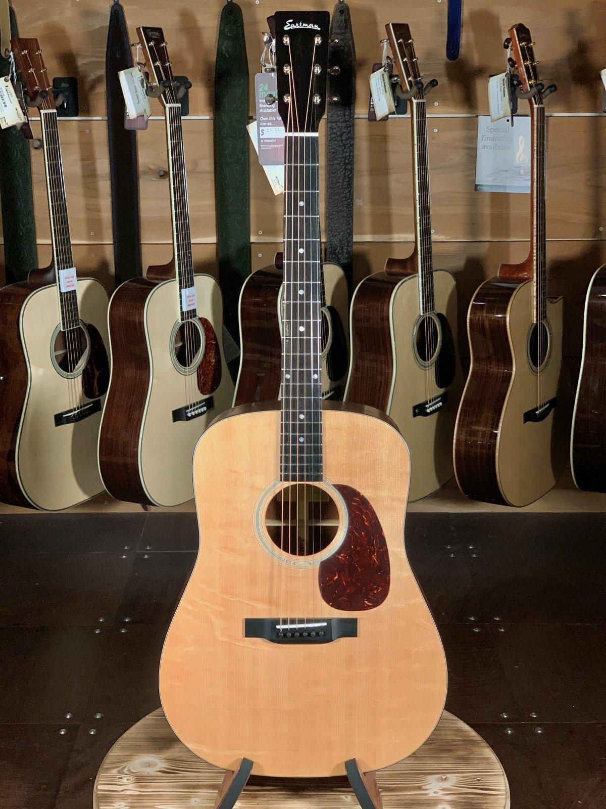 Eastman E1D All Solid Dreadnaught Acoustic Guitar #5719