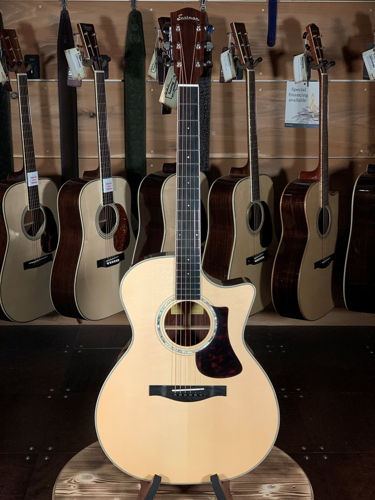 Eastman AC422CE Spruce & Rosewood Acoustic/Electric #5603