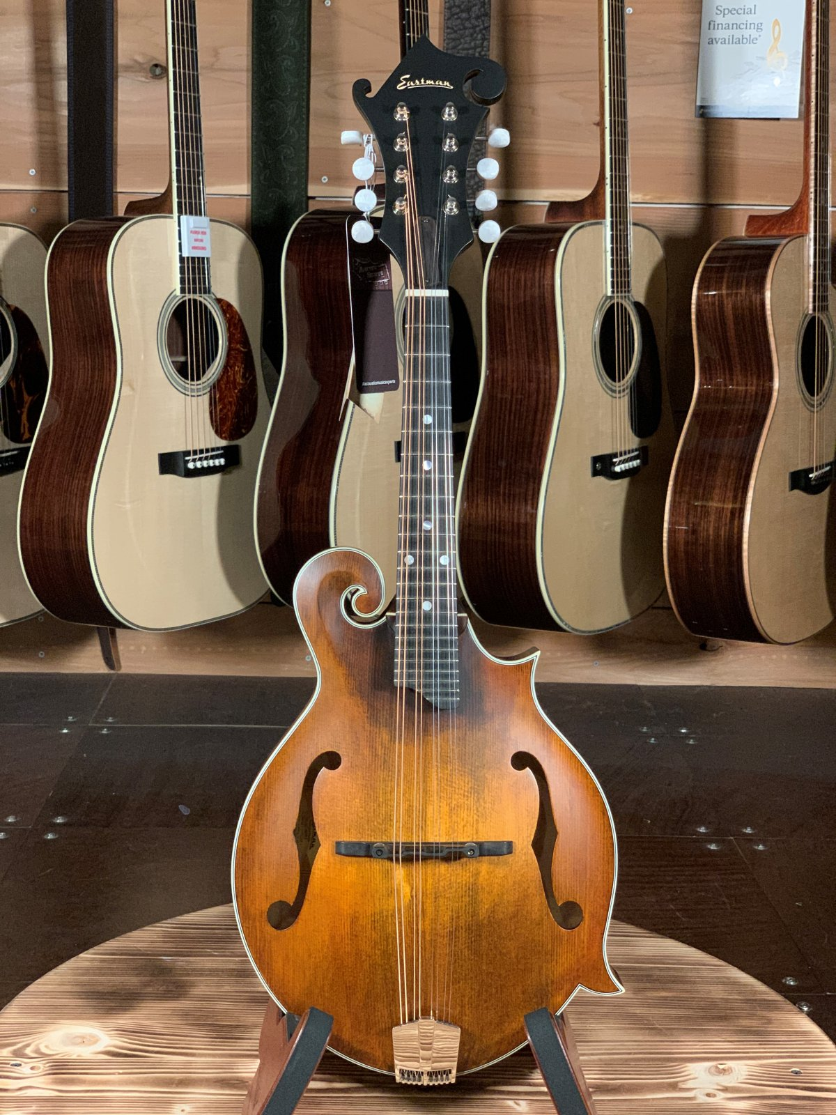 Eastman MD315 F-Style Hand-Carved Mandolin #2209