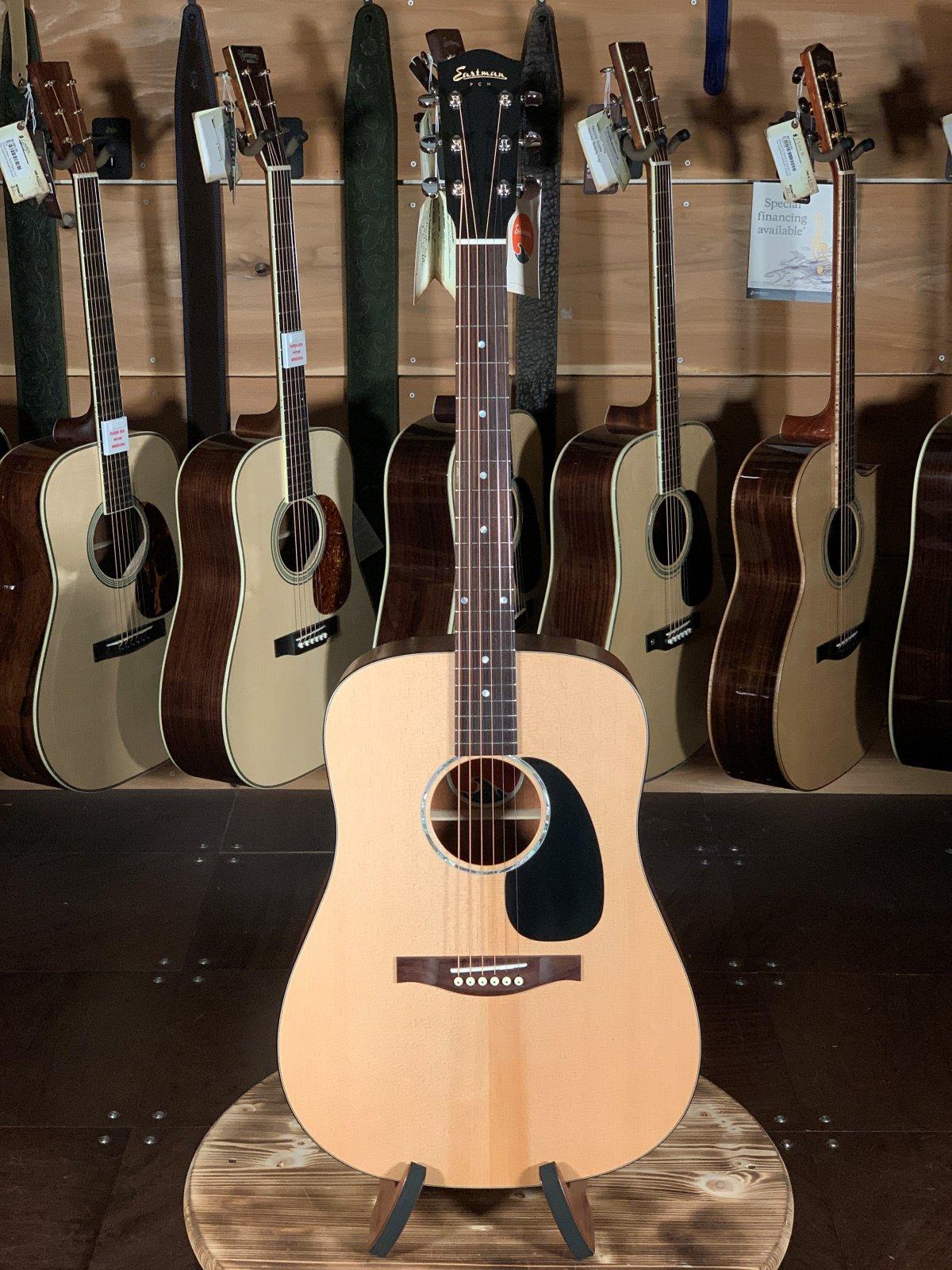Eastman PCH1-D Solid Top Natural Dreadnaught Guitar #1424