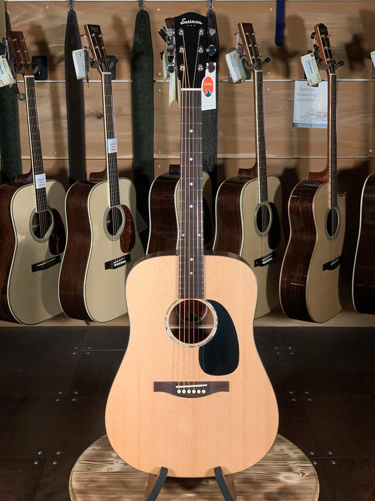 Eastman PCH1-D Solid Top Natural Dreadnaught Guitar #1425