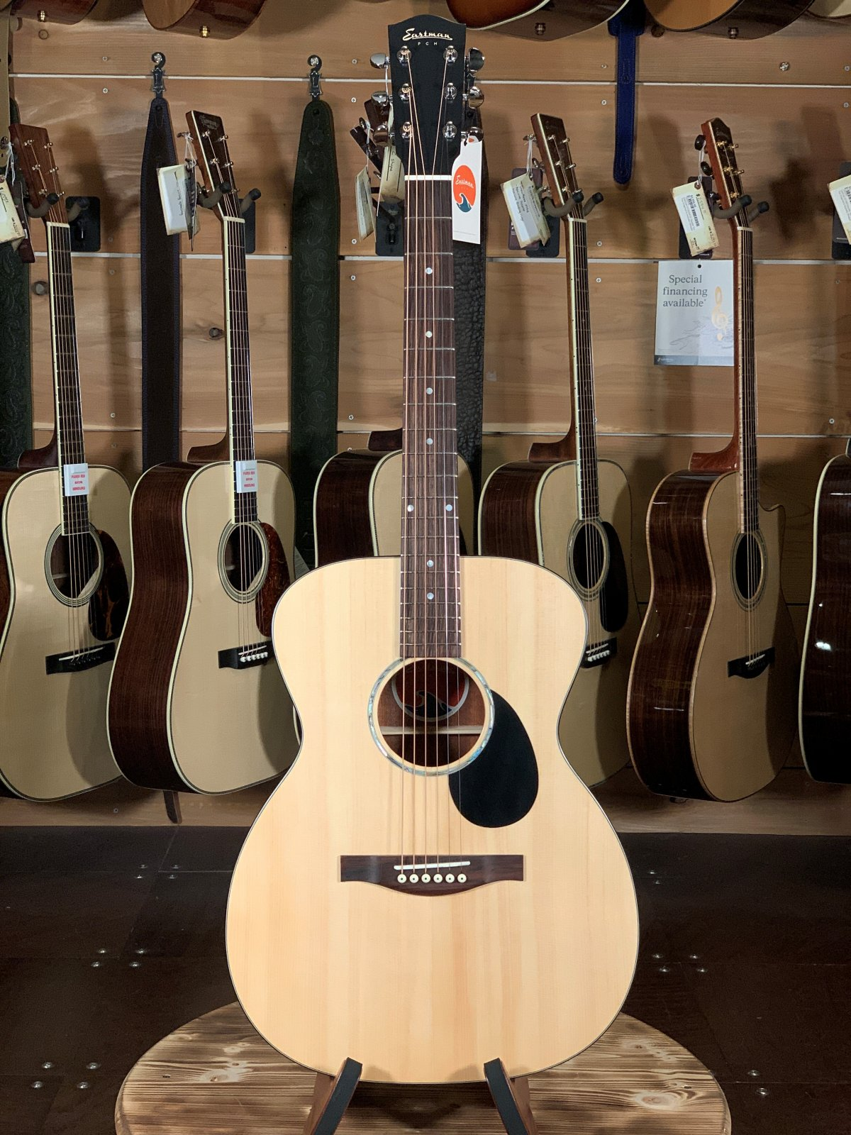 Eastman PCH1-OM Orchestra Model Acoustic #0492