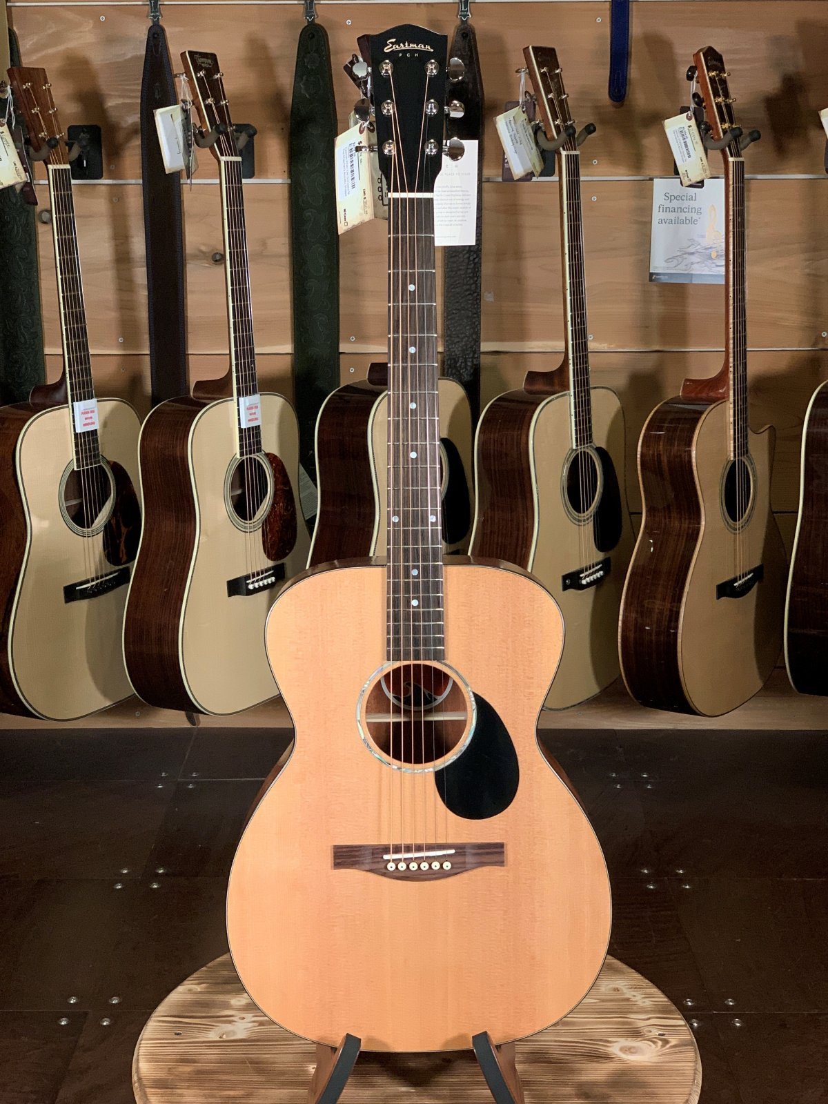 Eastman PCH1-OM Orchestra Model Acoustic #0494
