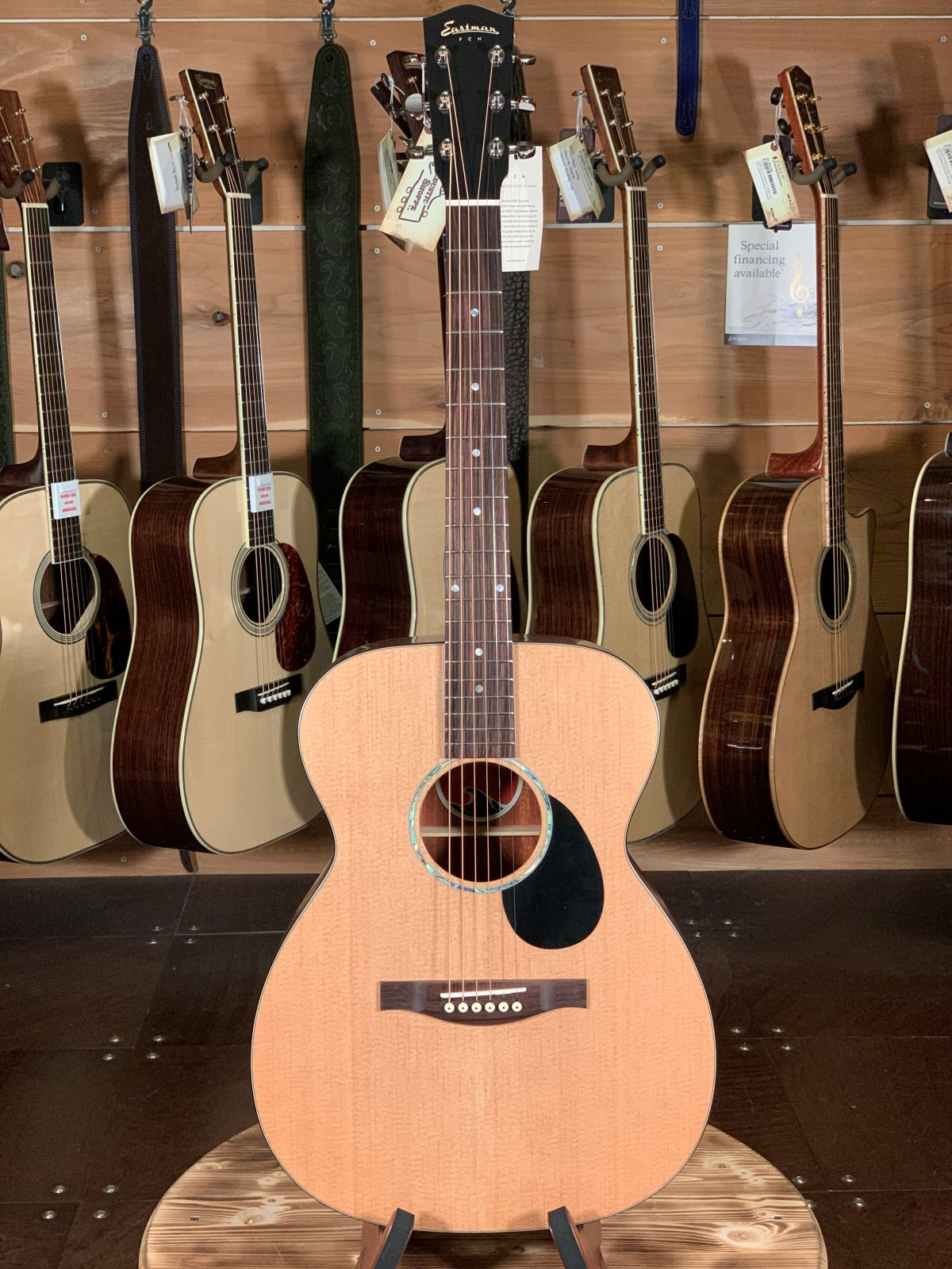 Eastman PCH1-OM Orchestra Model Acoustic #0497