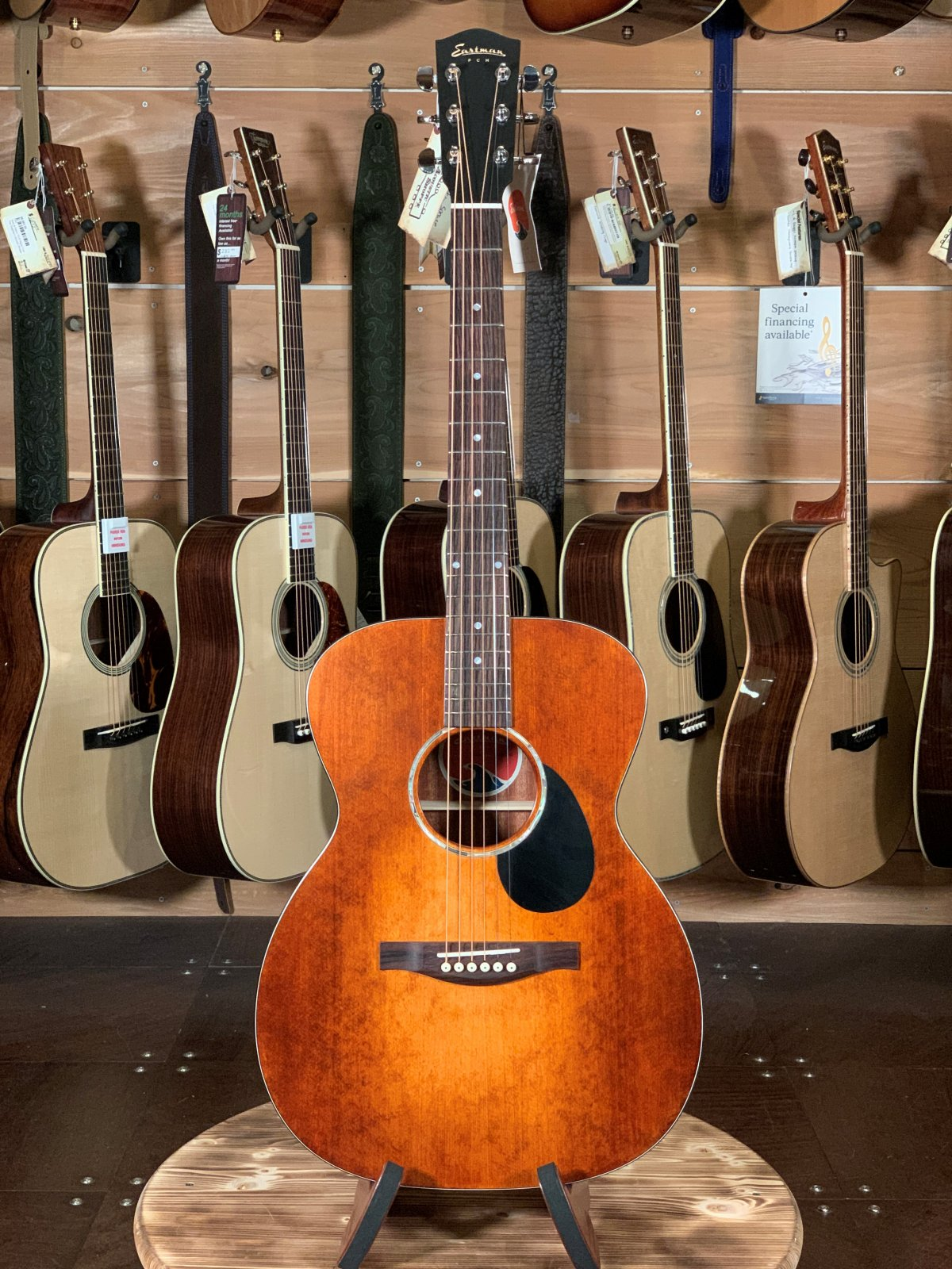 Eastman PCH1-OM-CLA Orchestra Model w/ Solid Spruce Top #1122