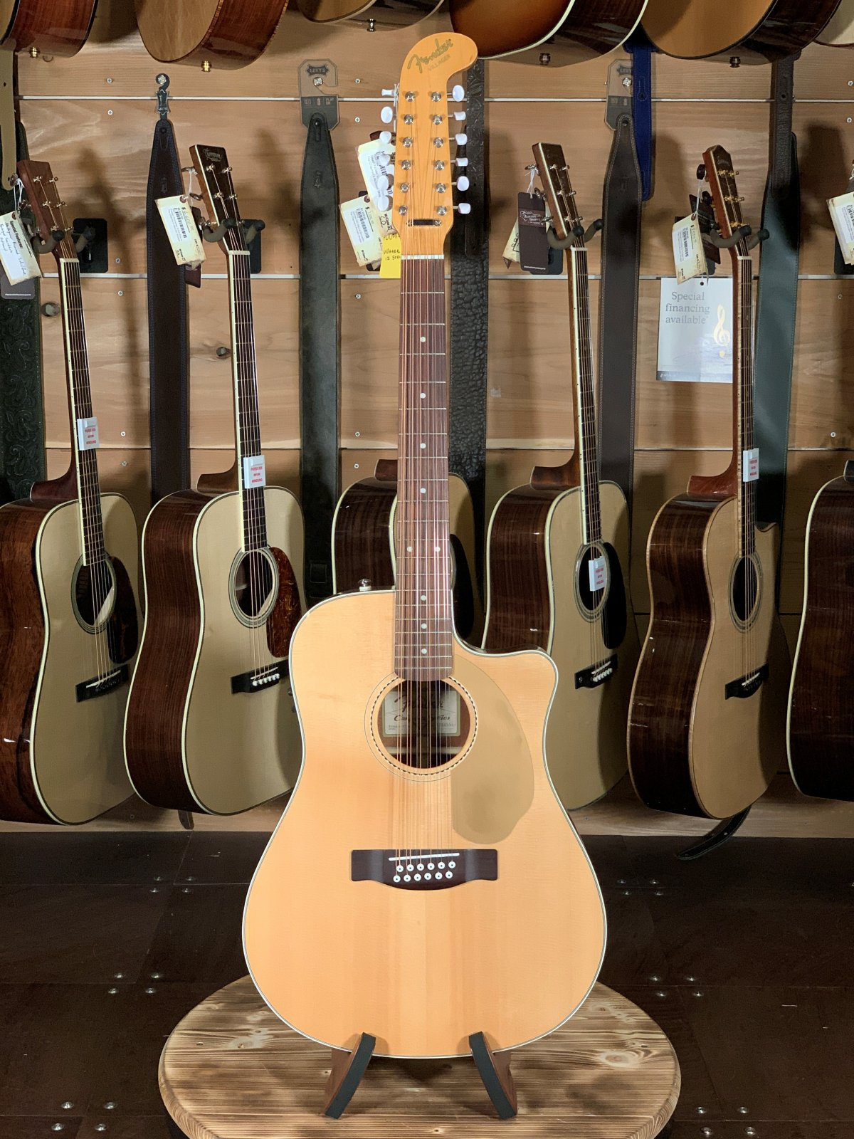 (Used) Fender Villager California Series 12 String Acoustic Guitar #5557
