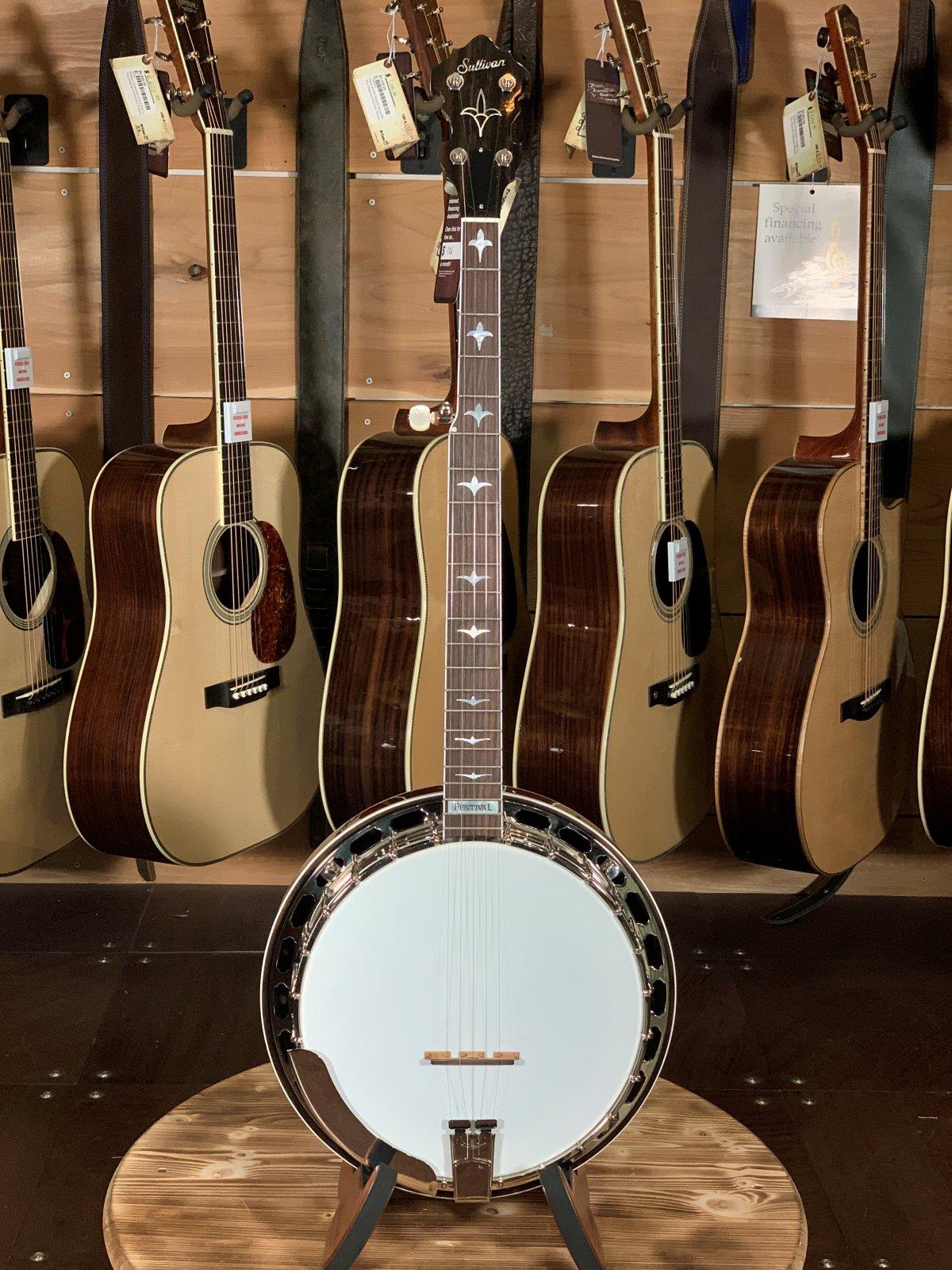 Sullivan Festival Mahogany Banjo #F1106-01