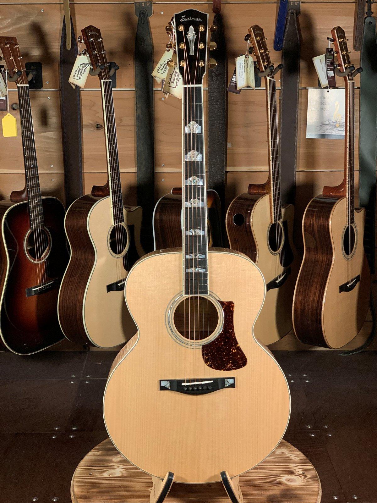 Eastman AC630-BD Blonde Jumbo Acoustic #0735