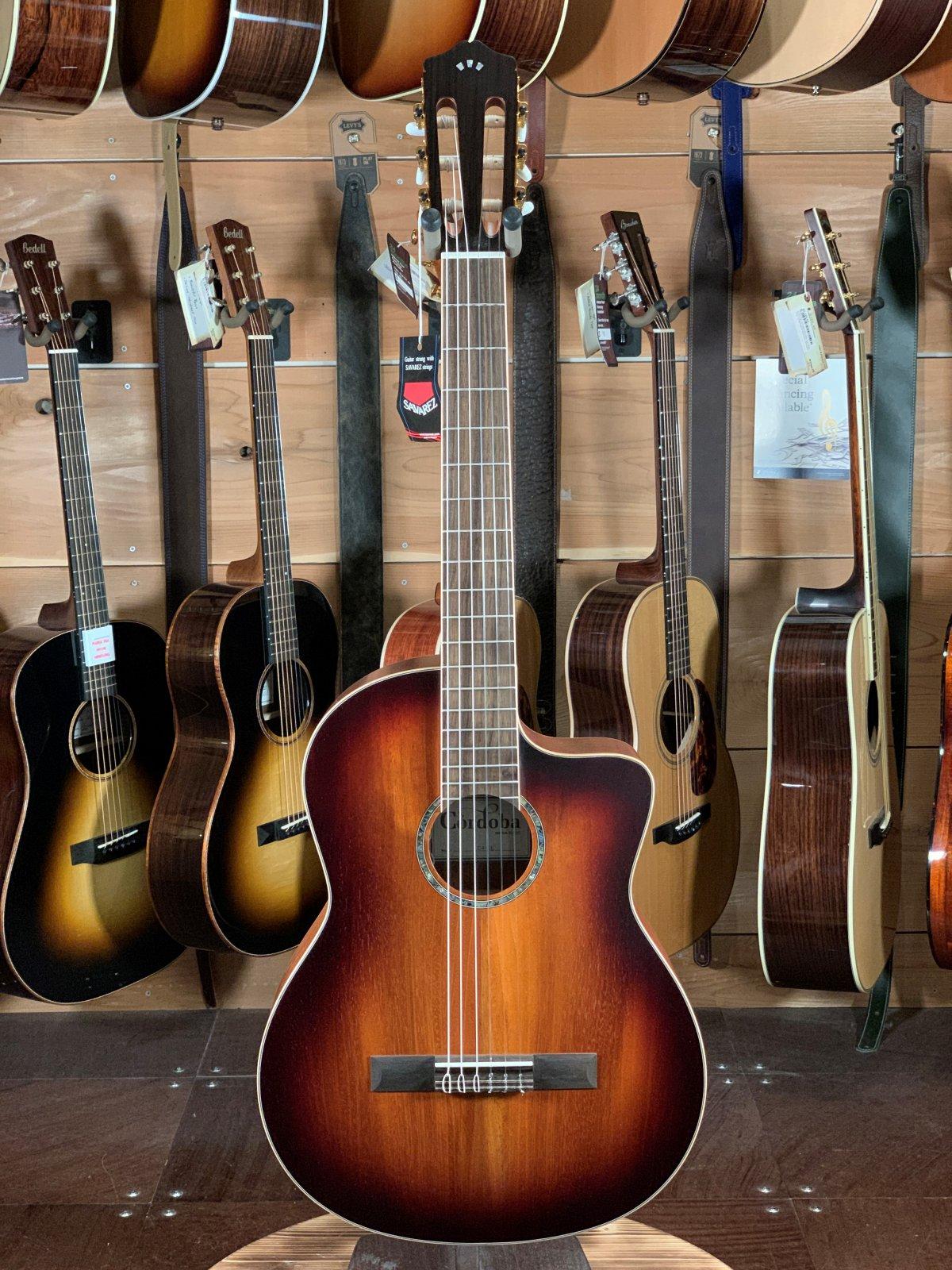 Cordoba C4-CE Mahogany Acoustic/Electric Classical Guitar #8588