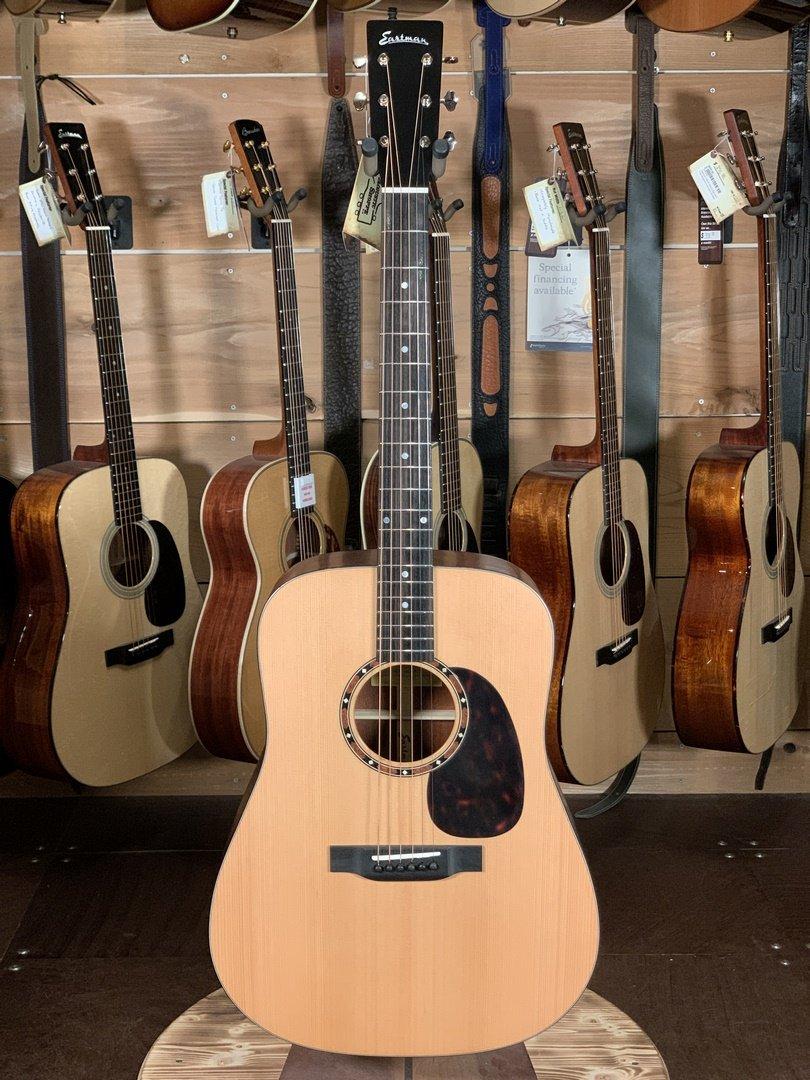 Eastman E2D Cedar Top Sapele Back/Sides Dreadnaught Guitar #6736