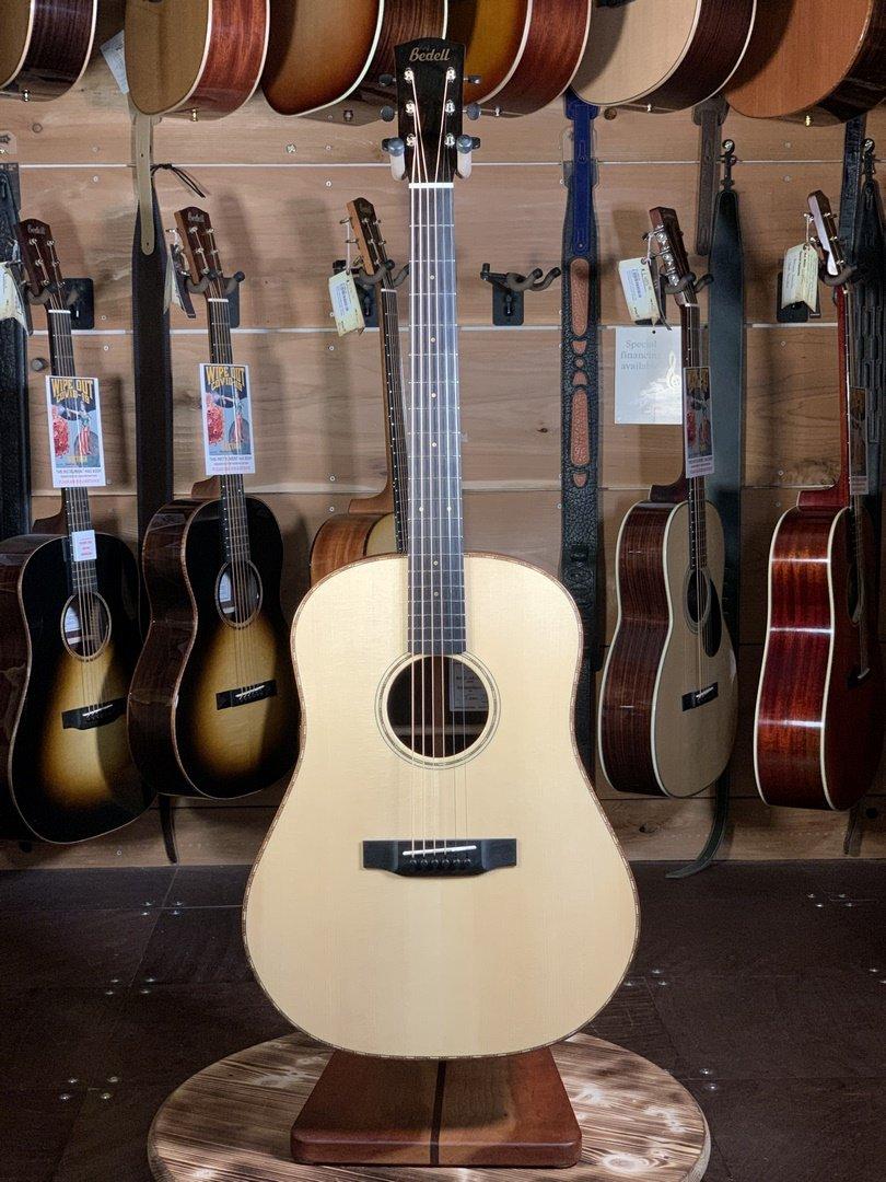 Bedell Bahia Dreadnaught Acoustic / Brazilian Rosewood & Adirondack Spruce #9006