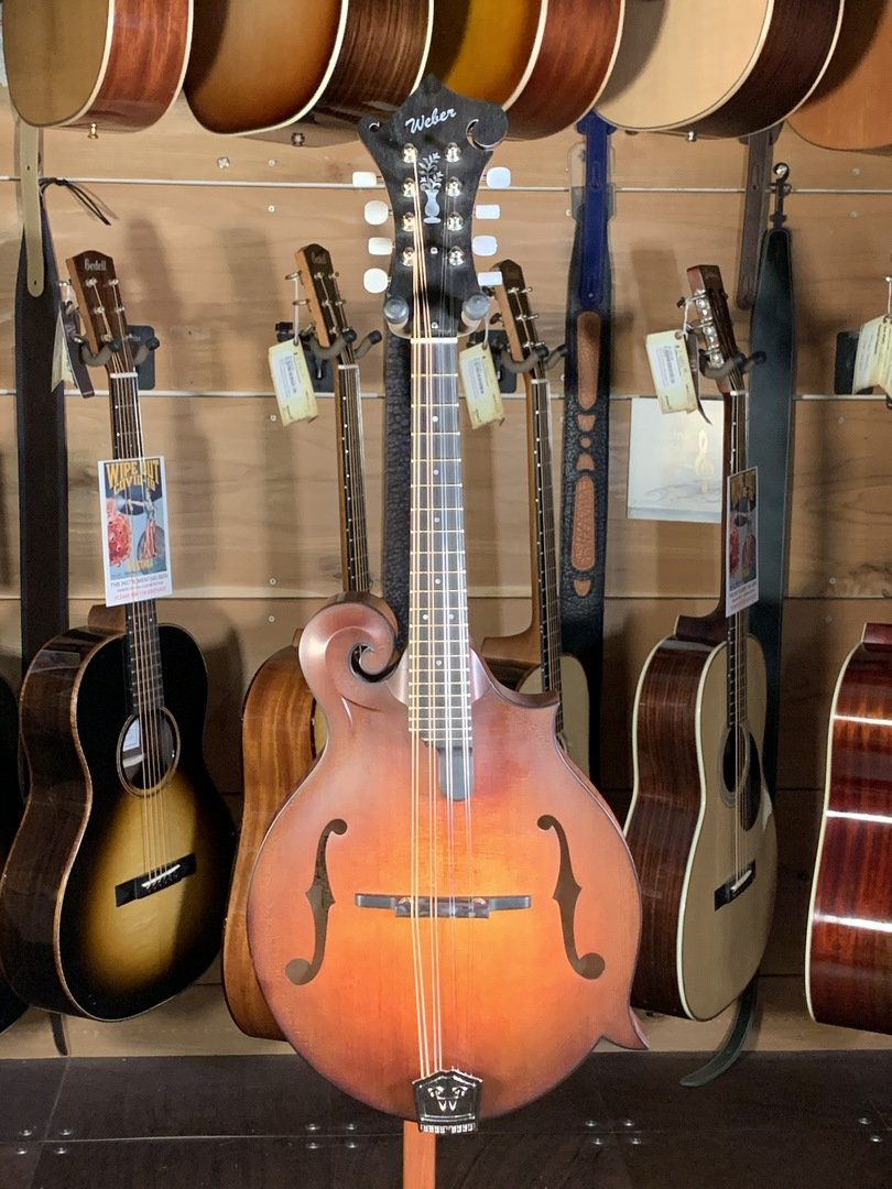 Weber Red Rocks F Style Special Edition Mandolin, Deep Body #2401