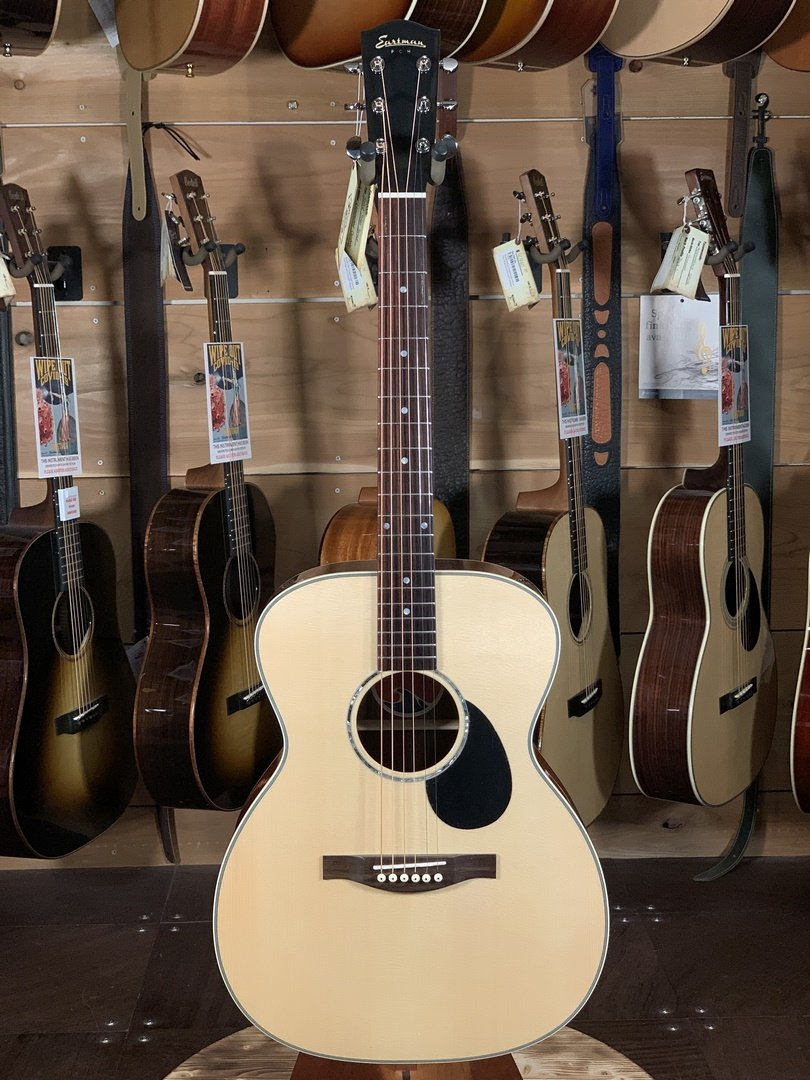 (LIMITED) Eastman PCH3-OM-CB NEW 2020 Spruce/Cocobolo Dreadnaught Acoustic #3910