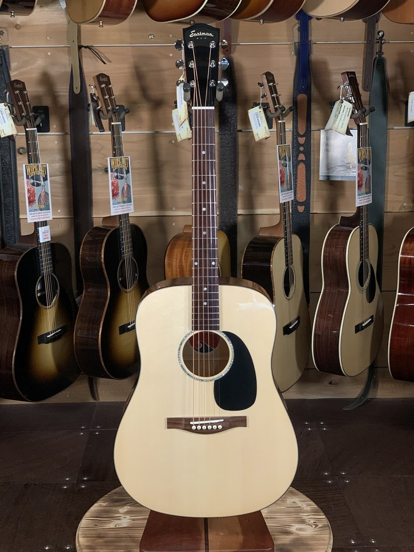 (LIMITED EDITION) Eastman PCH3-D-CLA Spruce/Maple Dreadnaught Acoustic #0909