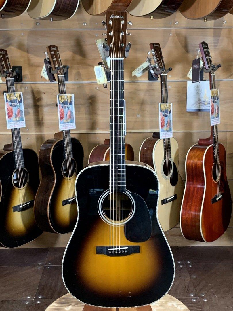 Eastman E20D-SB Traditional Rosewood Sunburst Dreadnaught Acoustic Guitar #5854
