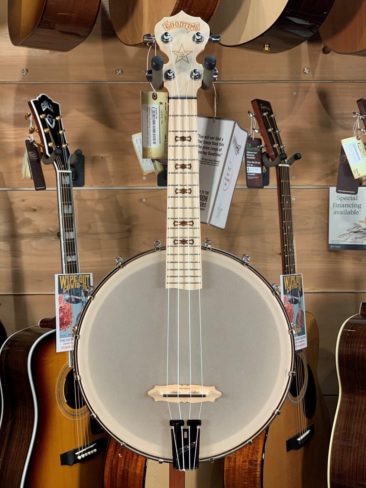 Deering Goodtime Banjo Ukulele - Concert