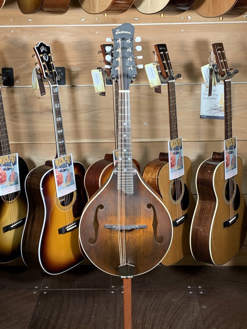 Eastman MD305 A-Style Hand-Carved Mandolin #0612