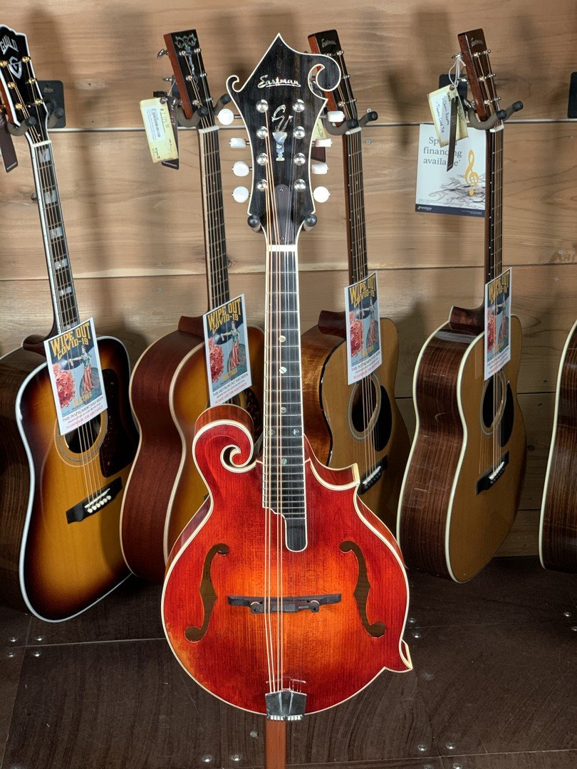Eastman MD815/V F-Style Mandolin Antique Varnish #0184