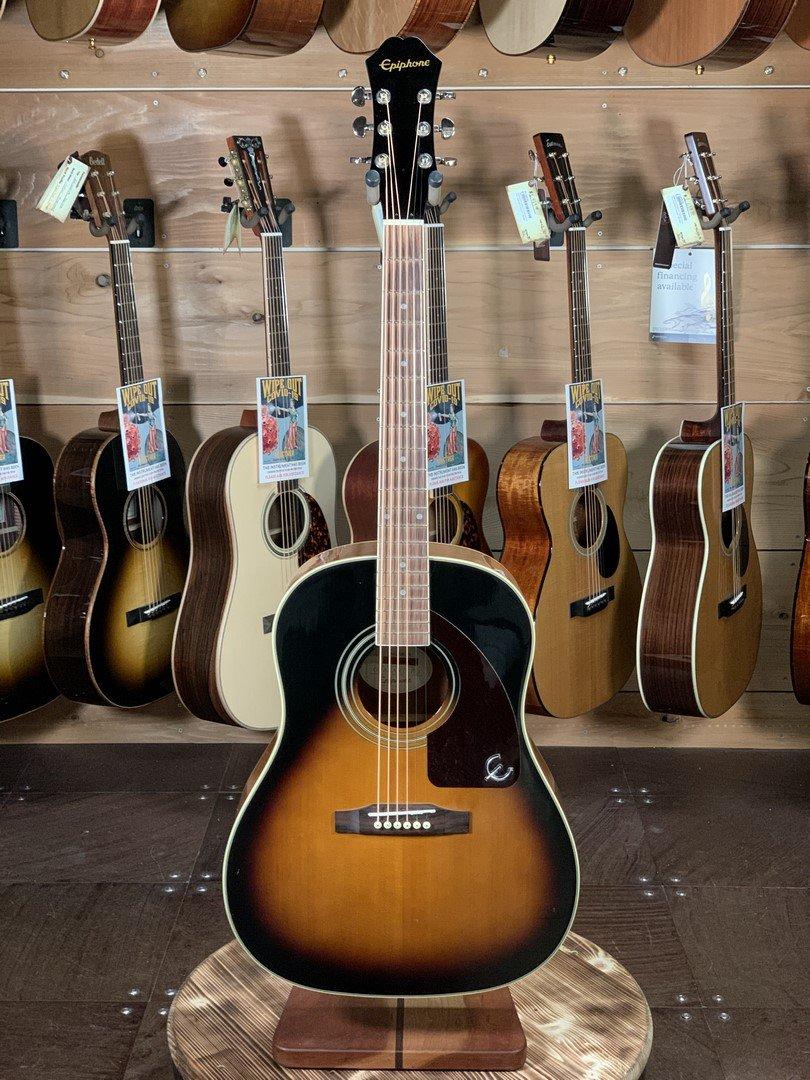 (Used) Epiphone  AJ-220S VS Slope Shoulder Acoustic Guitar #0069