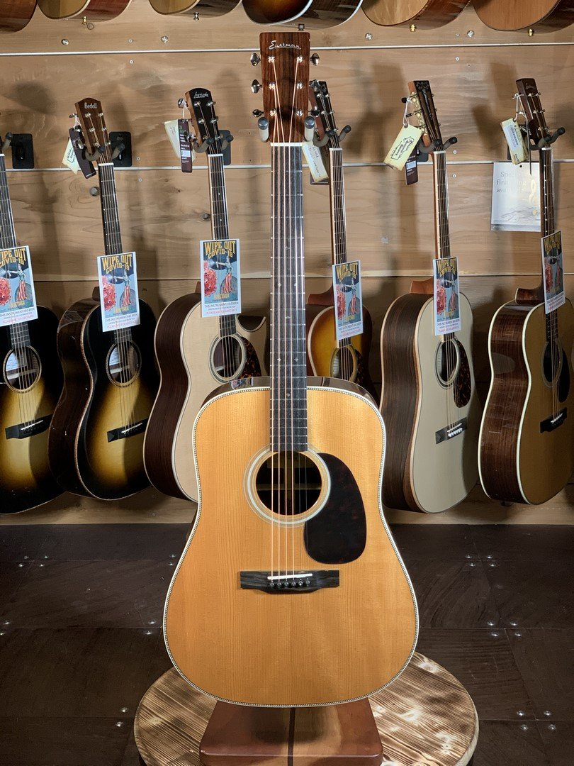 Eastman E20D-TC Thermo-Cured Adirondack/Rosewood Dreadnaught #2880