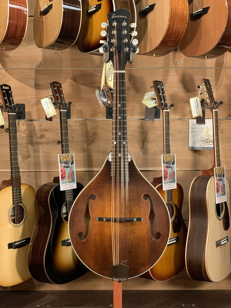 Eastman MD305 A-Style Hand-Carved Mandolin #1341