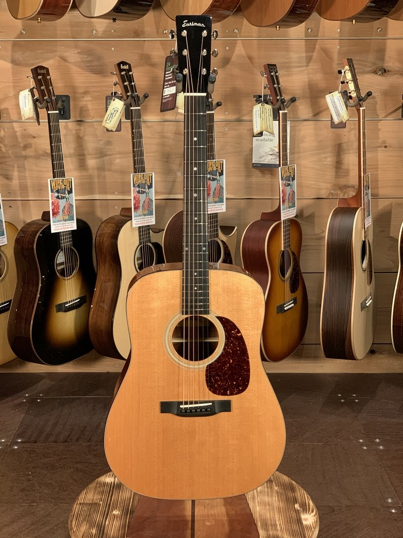 (NEW 2020) Eastman E6D-TC Thermo-Cured Sitka Top Natural Dreadnought Acoustic #5011