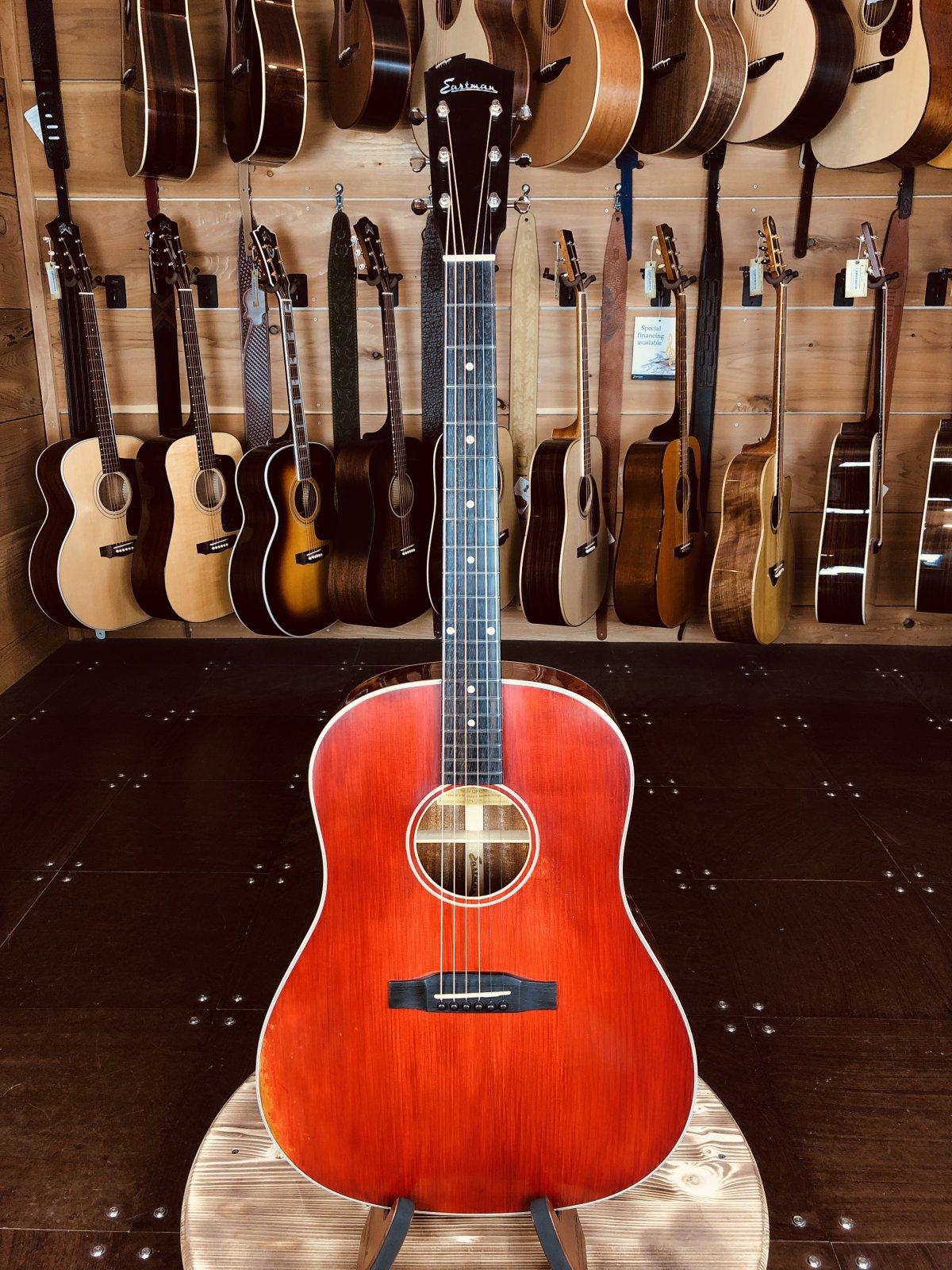 Eastman E10SS/V Antique Varnish Series Slope Shoulder Acoustic #0008