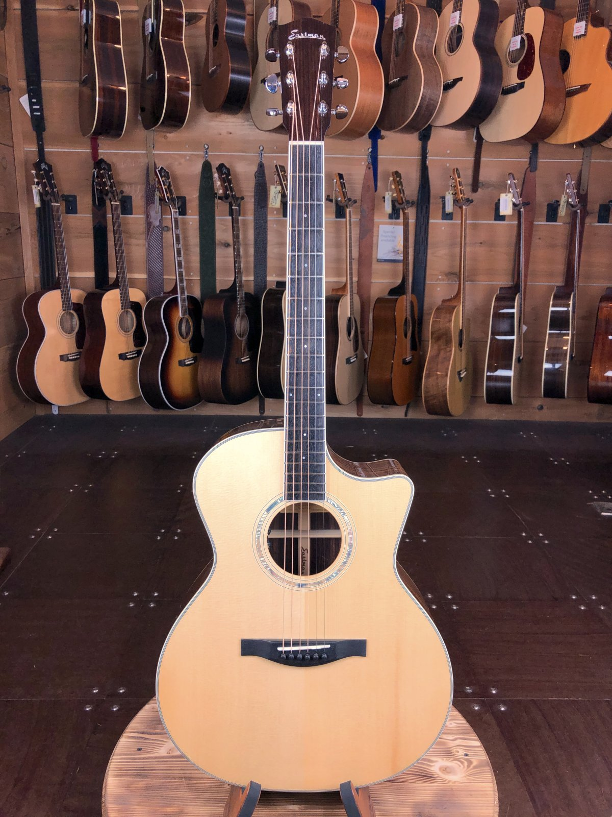 Eastman AC422CE Spruce & Rosewood Acoustic/Electric #5853
