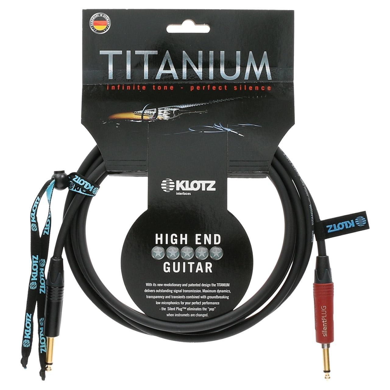 KLOTZ Titanium 20 Foot Instrument Cable (KLO-TI-0600PSP)