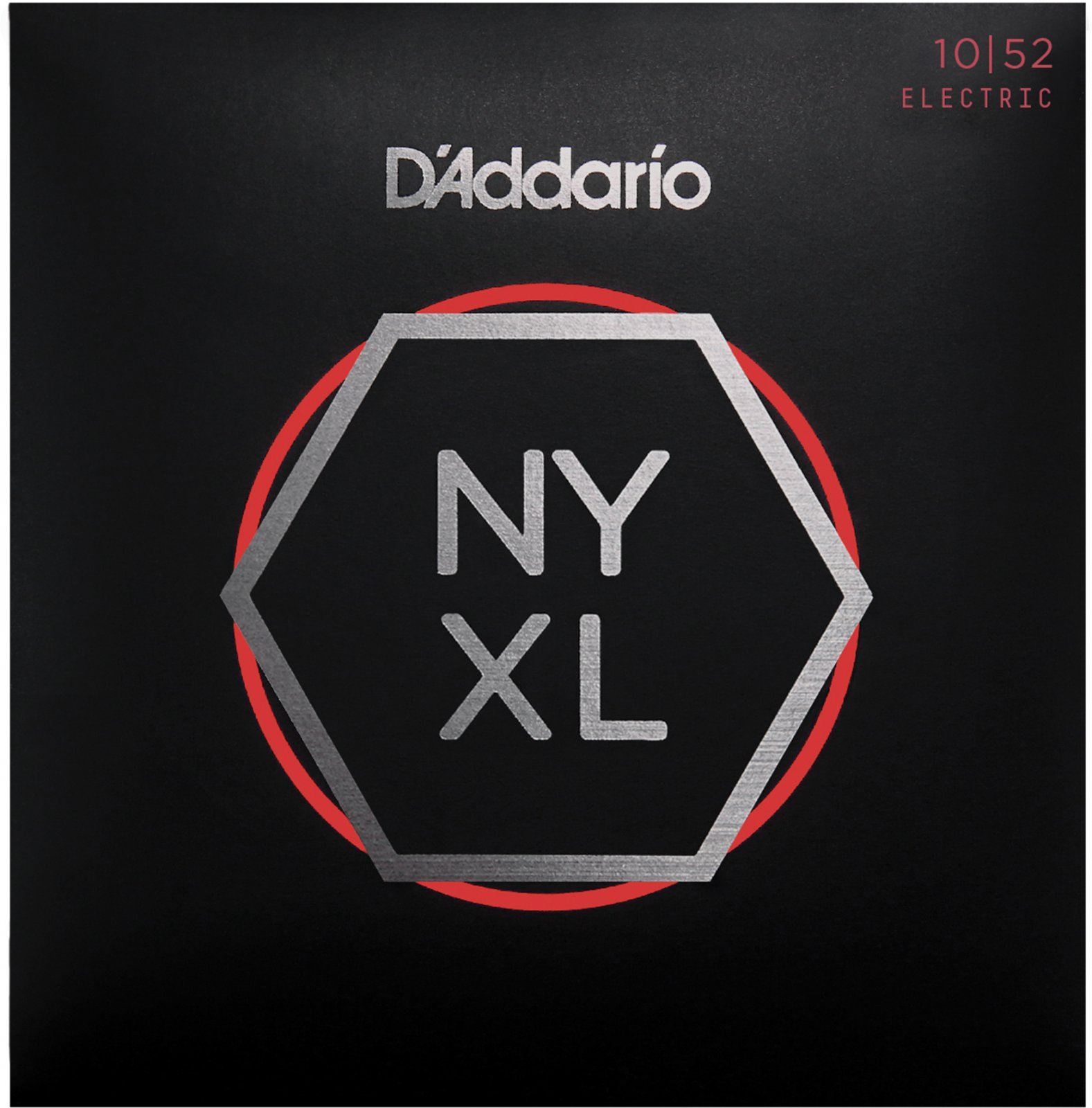 D'Addario NYXL1052 Nickel Wound Electric Guitar Strings Light Top / Heavy Bottom 10-52
