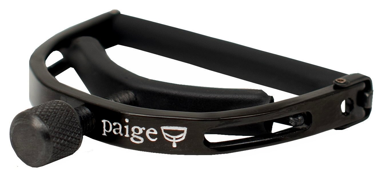 Paige Original 12 String Guitar Capo Ebony Finish (P-12E)