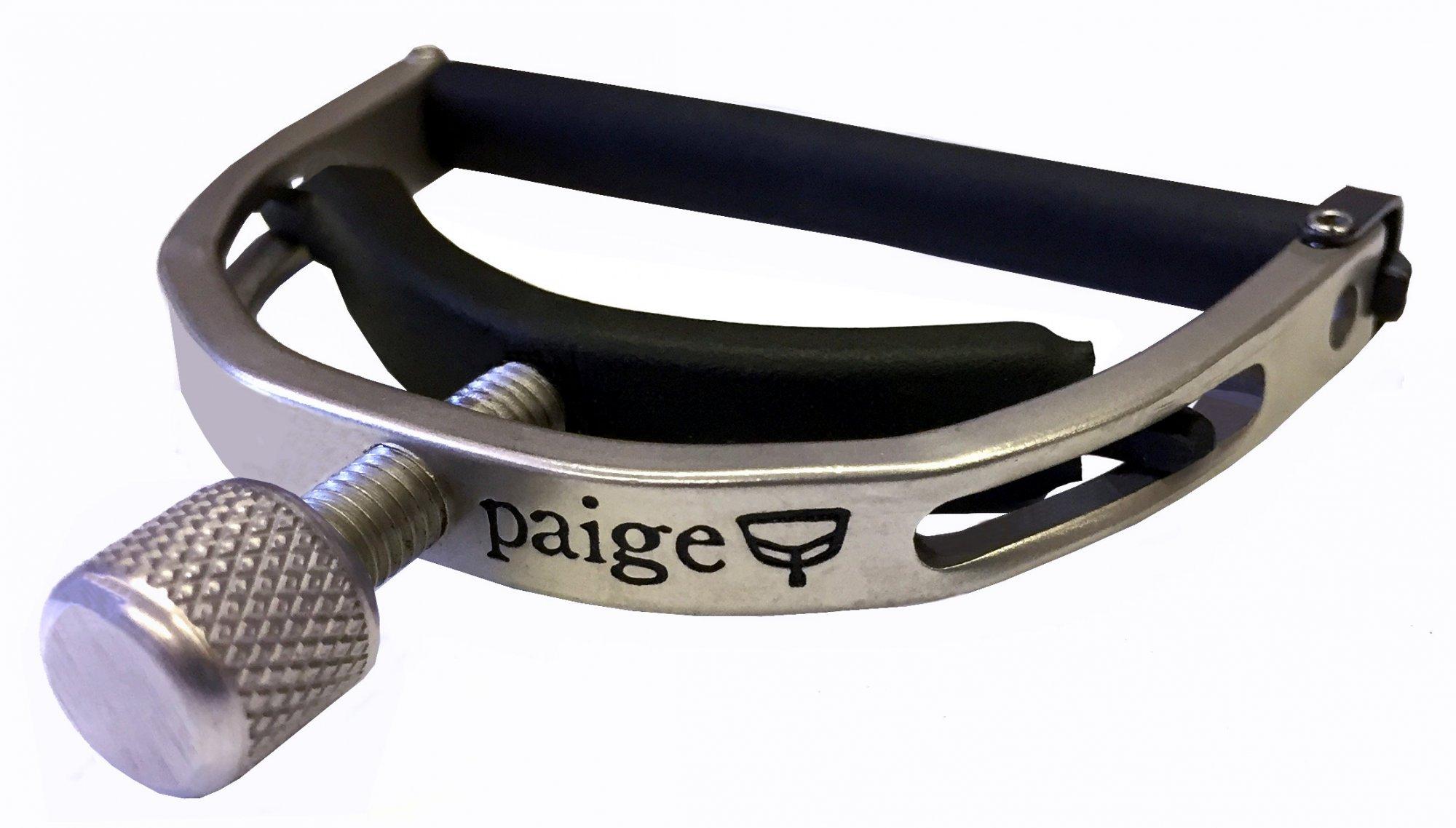 Paige Original Six String Guitar Capo Nickel (PO-6-N)