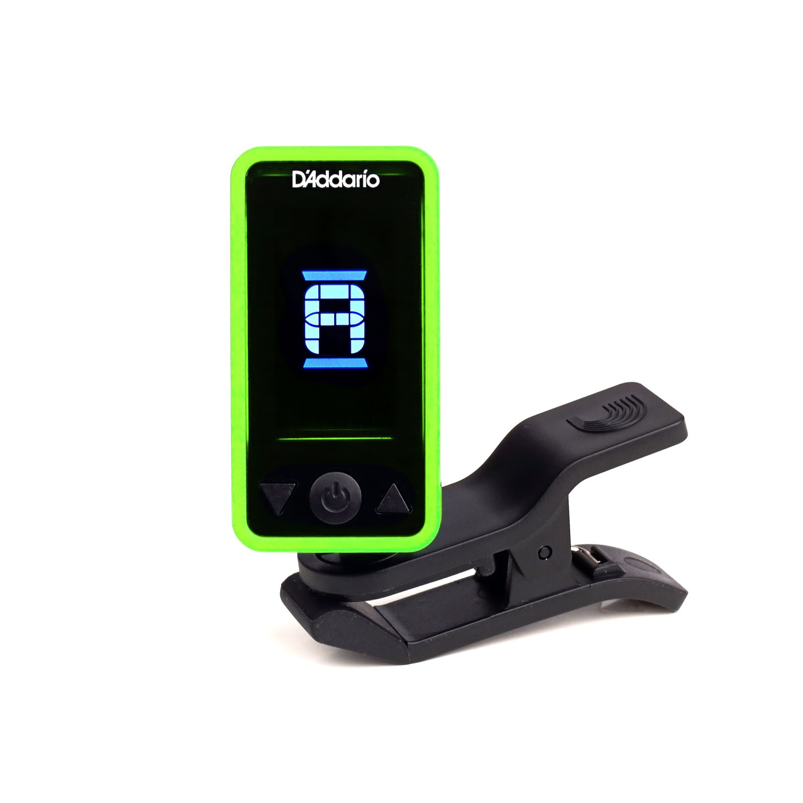 D'Addario Planet Waves Eclipse Headstock Tuner - Green (PW-CT-17GN)