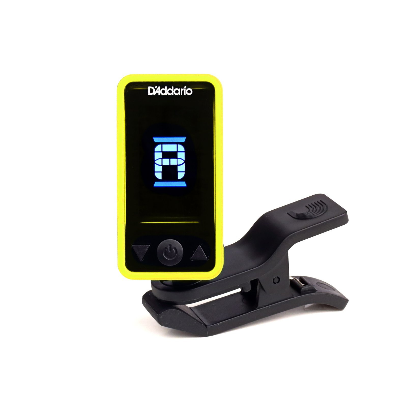 D'Addario Planet Waves Eclipse Headstock Tuner - Yellow (PW-CT-17YL)