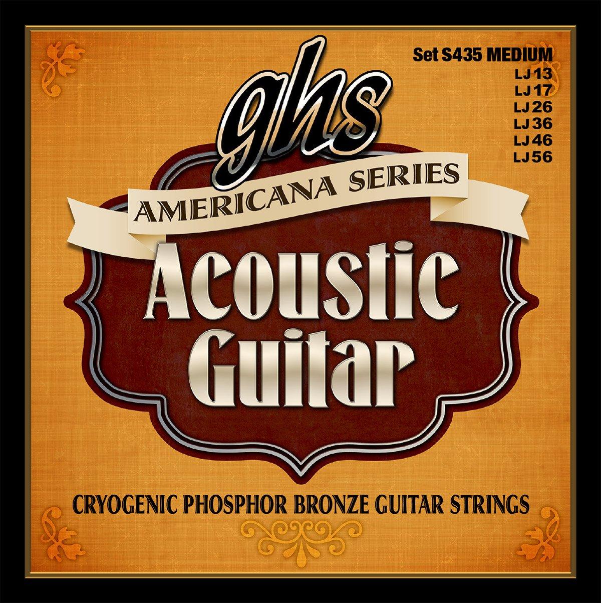 GHS S435 Americana Guitar Medium