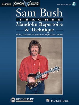 Sam Bush Teaches Mandolin Repertoire & Technique (HL00695339)