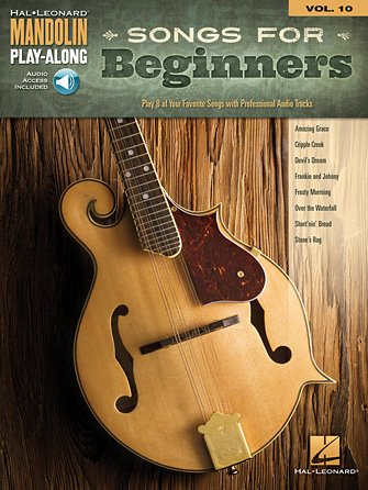 Songs for Beginners Mandolin Play-Along Volume 10 (HL00156776)
